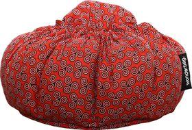 Wonderbag - Non-Electric Portable Slow Cooker - Medium African Batik Red
