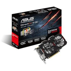 Asus R7260X-Dc2Oc-1Gd5 - R7-260X - Trueaudio HDmi With Dedicated Pap