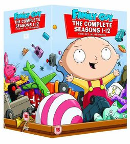Family Guy: Complete Seasons 1-12 Box Set (DVD)