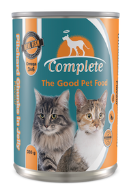 Complete - Tin Cat Food Pilchard Chunks - 0.385kg