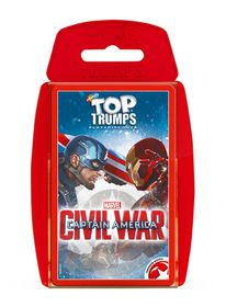 Top Trumps - Captain America