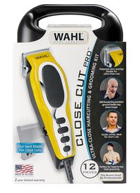 Wahl Ultra-Close Corded 12 Piece Haircutting & Grooming Kit