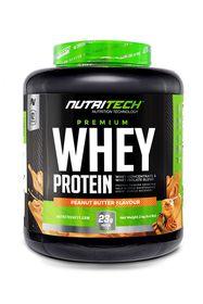 Nutritech Premium Whey Protein Peanut Butter Flavour - 2kg