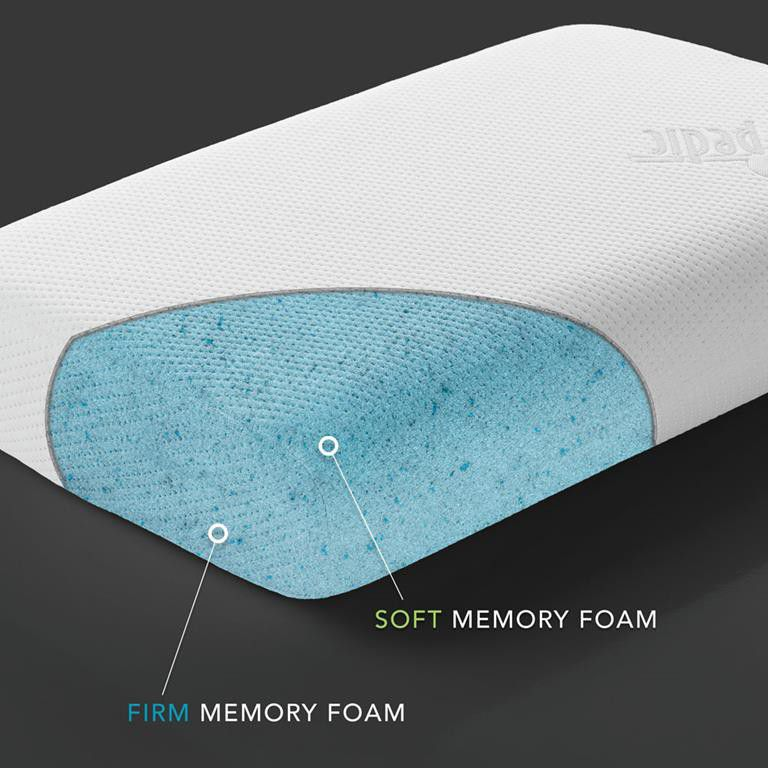 massage detail memory product mattress pillow gel care cooling latex neck foam wholesale
