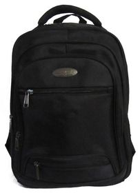 Power Land Laptop Backpack - Black (BH-D30486)