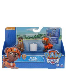 Paw Patrol Rescue Action Pack With Friends - Zuma & Wally