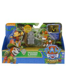 Paw Patrol Rescue Action Pack With Friends - Tracker & Mandy