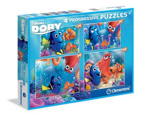 Disney Finding Dory Puzzle 20+60+100+180 Pcs