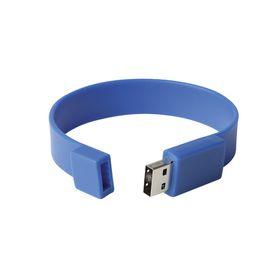 Eco Silicone Wristband USB