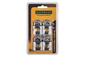Kaufmann - 4 Piece 30mm Steel Lock Set