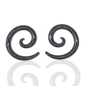 Xcalibur Stainless Steel Decorative Expander Style Earring - TXE034