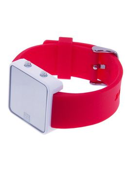 Always-Push Rainbow Red Unisex Watch - Small