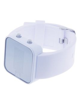 Always-PushDay White Unisex Watch - Chunky