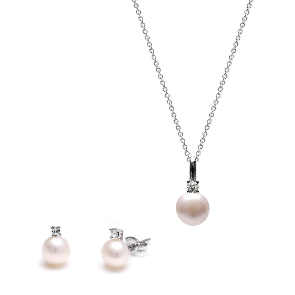single product pearl jewellery by jersey necklace pendant
