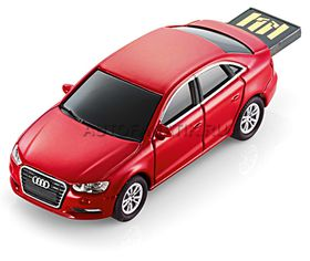 Audi USB Flash Drive 4 GB A3 Limo - Red