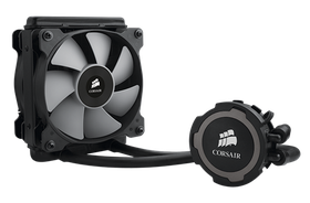 Corsair H75 Hydro Series 240Mm Cpu Water Cooling - Copper