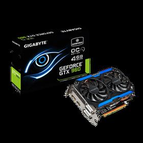 Gigabyte Nvidia Gtx 960 Oc Edition 4096Mb Graphics Card