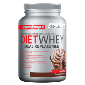 Supashape Diet Whey Meal Replacement 800g - Chocolate