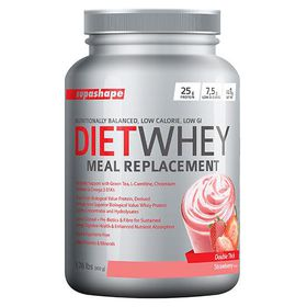 Supashape Diet Whey Meal Replacement 800g - Strawberry