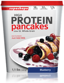 Supashape Protein Pancakes - Blue Berry
