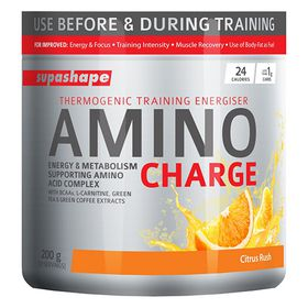 Supashape Amino Charge - 200g - Orange