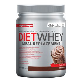 Supashape Diet Whey Meal Replacement 400g - Chocolate