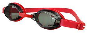 Junior Speedo Jet V2 Goggles - Red/Smoke