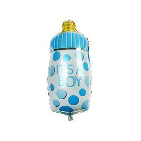 Foil Bottle Balloon - Baby Boy