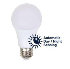 Ellies - 5W Als LED E27 Automatic Day and Night Sensing
