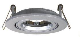 Ellies - Gu10 Twist and Lock Down-Light Fitting - Silver