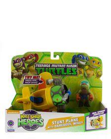 Teenage Mutant Ninja Turtles Half Shell Heroes Basic Vehicle - Stunt Plane With daredevil Mikey