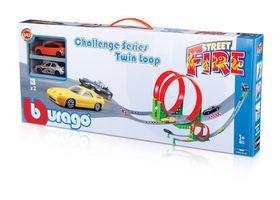 Burago 1/43 Street Fire Challenge Series Twin Loop
