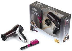 Klein Braun Satin Hair 7 Hairdryer With Brush *Toy*