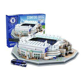 Nanostad Chelsea Stamford Bridge Stadium 3D Puzzle - 171 Piece