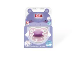 Bibi - 6-16m Silicone Soother - Lovely Dots