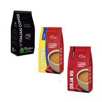Caffitaly Compatible - Coffee Variety (no Decaffe) - 36 Coffee Capsules