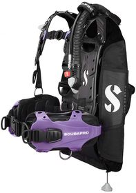 ScubaPro Hydros Pro Purple Scuba Diving BCD