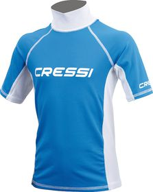 Cressi Rash Guard Junior Boy Short Sleeve T-Shirt