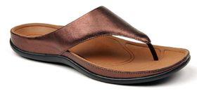Strive Maui Thong Sandal - Dark Bronze