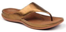 Strive Maui Thong Sandal - Pale Gold