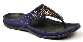 Strive Ibiza Thong Sandal - Evening Blue