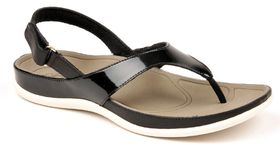 Strive Lipsi Thong Sandal - Black