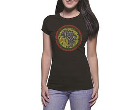 OTC Shop Africa Ladies T-Shirt - Black