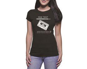 OTC Shop Age Test Ladies T-Shirt - Black
