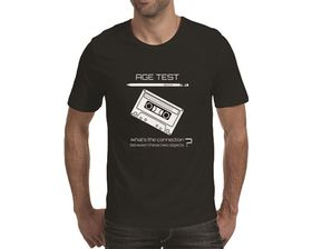 OTC Shop Age Test Men's T-Shirt - Black