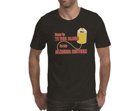 OTC Shop Alkohol Sisteem Men's T-Shirt - Black