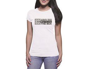 OTC Shop Always Think Outside the Box Ladies T-Shirt - White