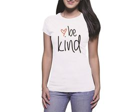 OTC Shop Be Kind Ladies T-Shirt - White