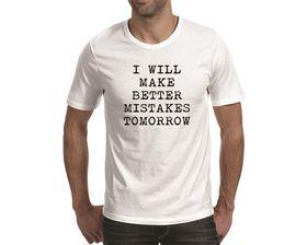 OTC Shop Better Mistakes Men's T-Shirt - White