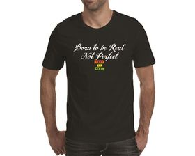 OTC Shop Born to be Real Men's T-Shirt - Black
